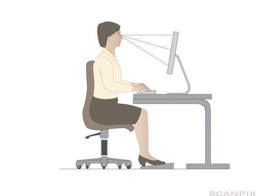 Använd din dator ergonomiskt med ett laptopbord